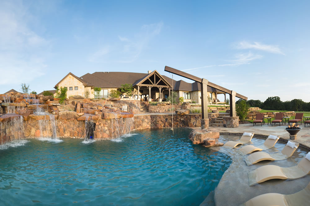 Signature project RANCH PLAYGROUND by Custom Design Pools ...