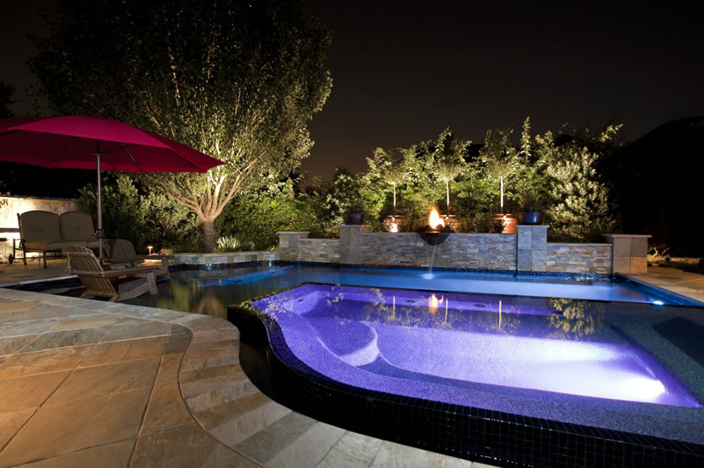 Signature project tuscan elegence by custom design pools for Pool design houston