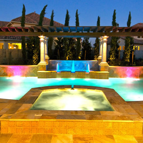 Custom Design Pools & Landscaping Houston Luxury Pool ...